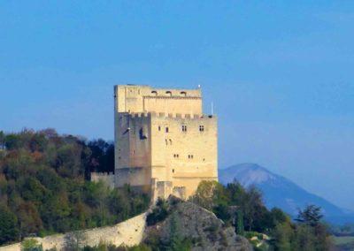 La tour de Crest, l'un des plus hauts donjons d'Europe